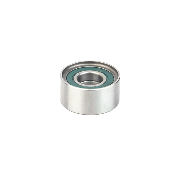What kinds of bearings are commonly used in machine tool spindles?
